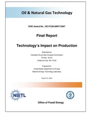 Primary view of object titled 'Technology's Impact on Production'.