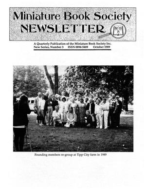 Miniature Book Society Newsletter 1989 October