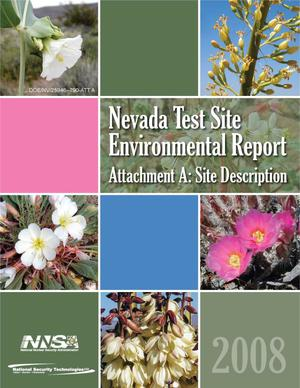 Primary view of object titled 'Nevada Test Site Environmental Report 2008 Attachment A: Site Description'.