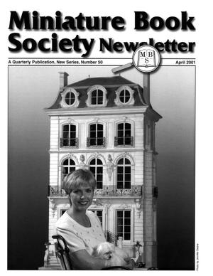 Miniature Book Society Newsletter 2001 April