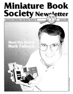 Miniature Book Society Newsletter 2001 January
