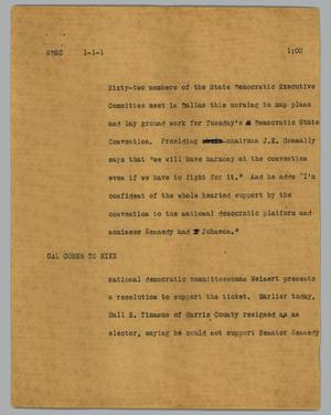Primary view of object titled '[News Script: SDEC]'.