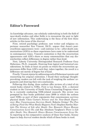 Primary view of object titled 'Editor's Foreword'.