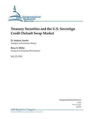 Treasury Securities and the U.S. Sovereign Credit Default Swap Market
