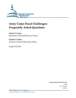 Army Corps Fiscal Challenges: Frequently Asked Questions