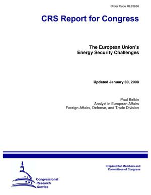 The European Union's Energy Security Challenges