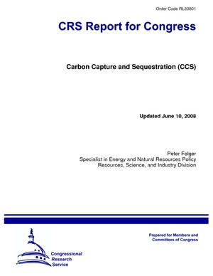 Carbon Capture and Sequestration (CCS)