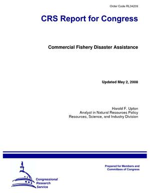 Commercial Fishery Disaster Assistance