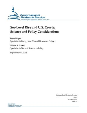 Primary view of object titled 'Sea-Level Rise and U.S. Coasts: Science and Policy Considerations'.