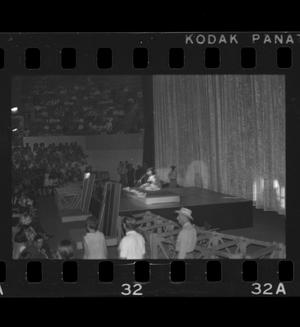 Primary view of object titled '[Donovan performing in Fort Worth]'.