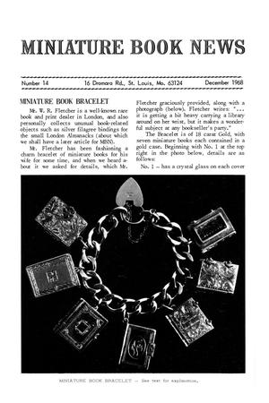 Primary view of object titled 'Miniature Book News # 14: 1968 December'.