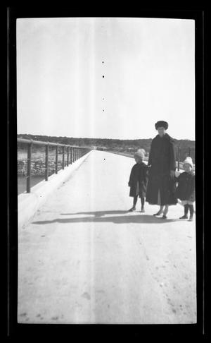 Primary view of object titled '[Irene Williams with two of her sons]'.