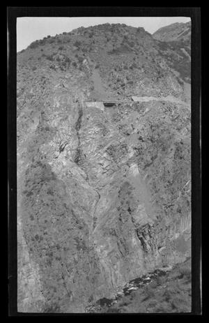 Primary view of object titled '[Photo of a mountainside]'.
