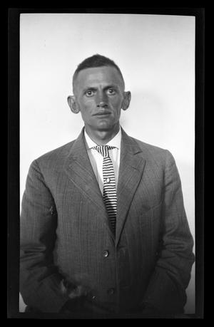Primary view of object titled '[Byrd Williams, Jr., self portrait]'.