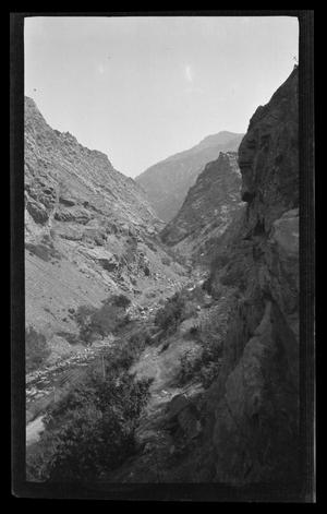 Primary view of object titled '[Photo of a gorge]'.