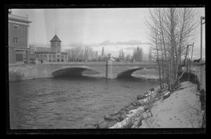 Primary view of object titled '[The old Virginia Street Bridge in Reno, Nevada]'.