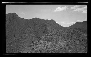 Primary view of object titled '[Photo of a desert landscape]'.