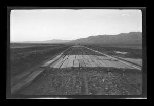 Primary view of object titled '[Road in a desert]'.