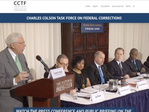 Primary view of object titled 'Charles Colson Task Force on Federal Corrections'.