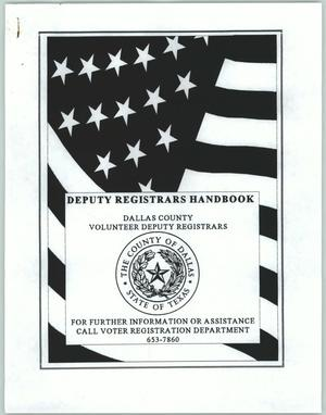 Primary view of object titled 'Deputy Registrars Handbook'.