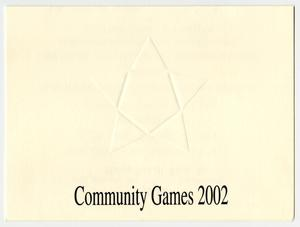 Primary view of object titled '[Community Games 2002 invitation]'.