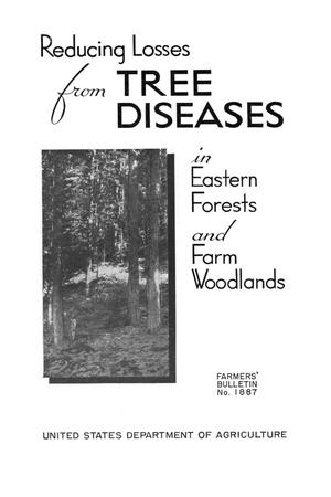 Primary view of object titled 'Reducing losses from tree diseases in eastern forests and farm woodlands.'.