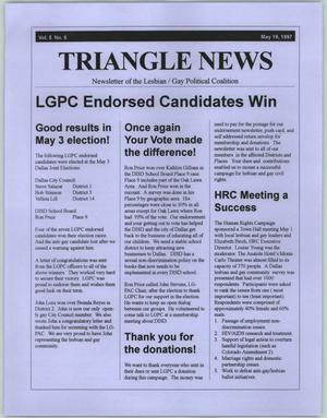 Primary view of object titled '[Newspaper Clipping: LGPC Endorsed Candidates Win]'.