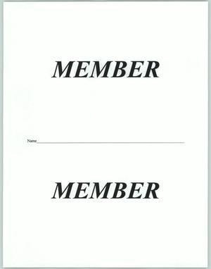 Primary view of object titled '[Member document]'.