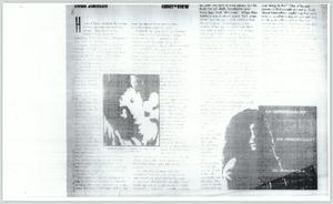 Primary view of object titled '[Copy of Howard Stern article]'.