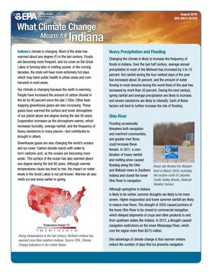 Primary view of object titled 'What Climate Change Means for Indiana'.