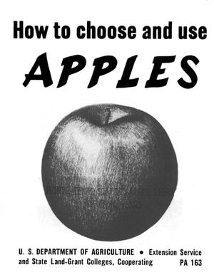 How to choose and use apples.