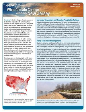 Primary view of object titled 'What Climate Change Means for New Jersey'.