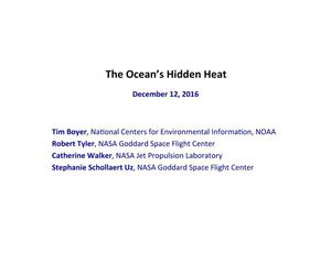 Primary view of object titled 'The Ocean's Hidden Heat'.