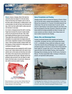 Primary view of object titled 'What Climate Change Means for Illinois'.