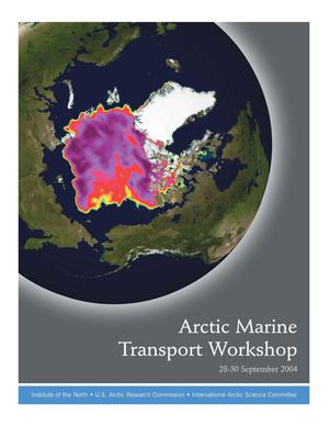 Primary view of object titled 'Arctic Marine Transport Workshop'.