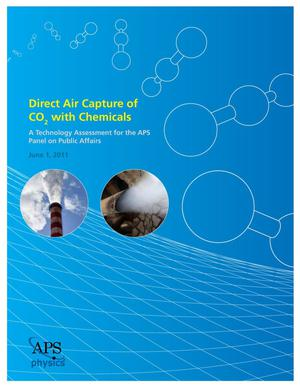 Primary view of object titled 'Direct Air Capture of CO₂ with Chemicals'.