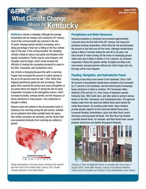 Primary view of object titled 'What Climate Change Means for Kentucky'.