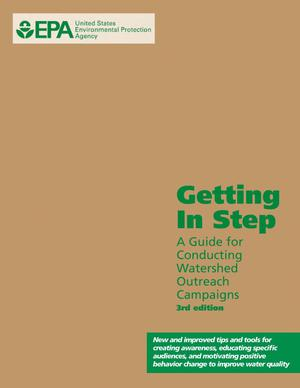 Primary view of object titled 'Getting In Step: A Guide for Conducting Watershed Outreach Campaigns'.