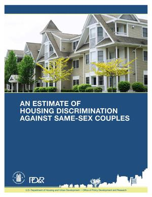 Primary view of object titled 'An Estimate of Housing Discrimination Against Same-Sex Couples'.