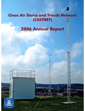 Primary view of object titled 'Clean Air Status and Trends Network Annual Report: 2006'.