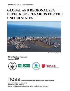 Primary view of object titled 'Global and Regional Sea Level Rise Scenarios for the United States'.