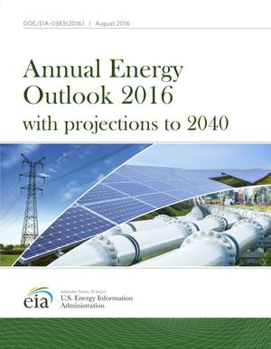 Primary view of object titled 'Annual Energy Outlook 2016: with Projections to 2040'.
