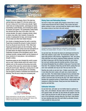 Primary view of object titled 'What Climate Change Means for Virginia'.