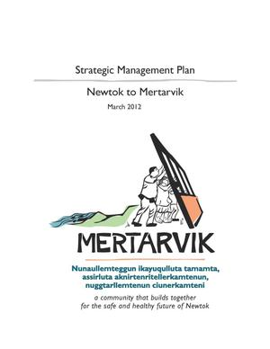 Primary view of object titled 'Strategic Management Plan - Newtok to Mertarvik'.