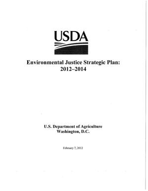 Primary view of object titled 'Environmental Justice Strategic Plan: 2012-2014'.
