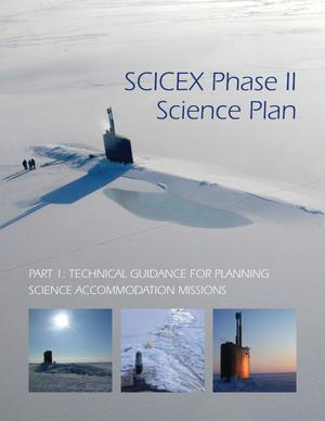 Primary view of object titled 'SCICEX Phase II Science Plan'.