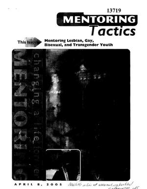 Primary view of object titled 'Mentoring Lesbian, Gay, Bisexual, and Transgender Youth'.