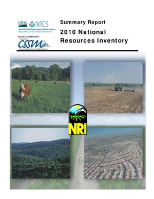 Primary view of object titled 'Summary Report 2010 National Resources Inventory'.