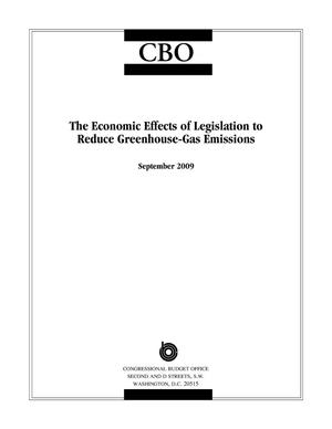 Primary view of object titled 'The Economic Effects of Legislation to Reduce Greenhouse-Gas Emissions'.
