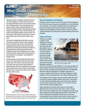 Primary view of object titled 'What Climate Change Means for Minnesota'.